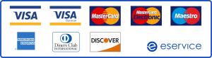 Akceptujemy płatność kartami Visa MasterCard i BLIK dzięki eservice